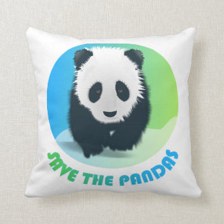 Save the Pandas Pillow