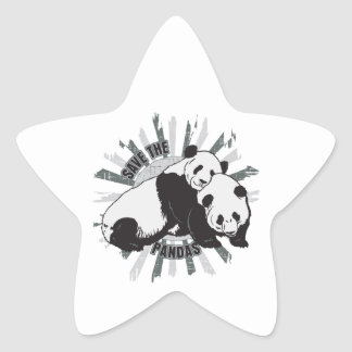Save the Pandas Stickers