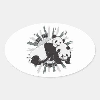 Save the Pandas Sticker