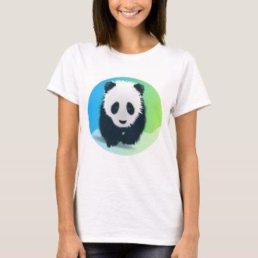 gridly Save the Pandas T-Shirt
