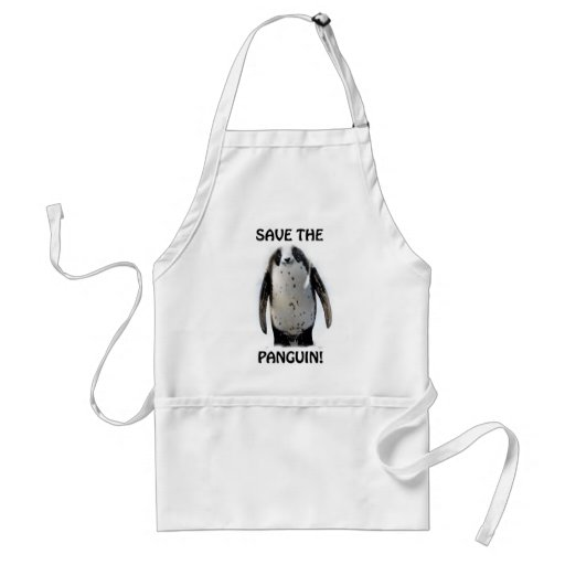 Save the Panguin! Apron