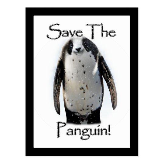 Save The Panguin! Postcard