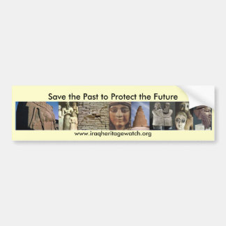 Save the Past to Protect the Future Sticker