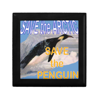 Save the penguin jewelry box