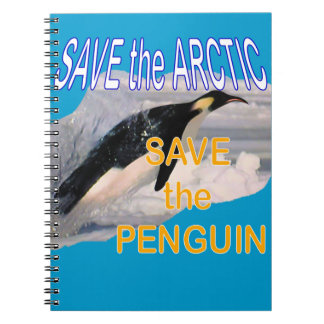 Save the penguin notebook