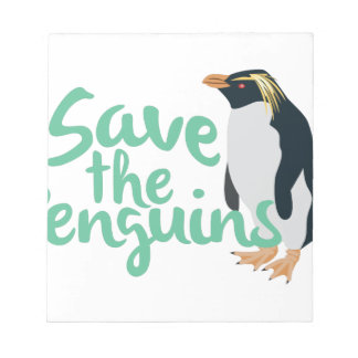 Save the Penguins Notepad