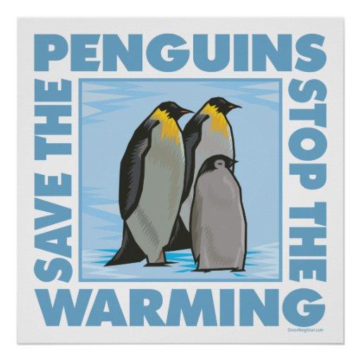 Save the Penguins Print