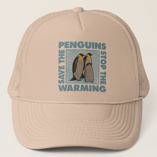 Save the Penguins Trucker Hat