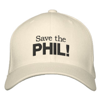 Save the PHIL! hat Embroidered Baseball Cap