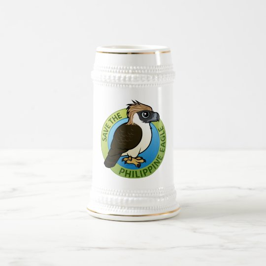Save the Philippine Eagle Beer Stein