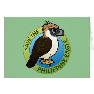 Save the Philippine Eagle Card