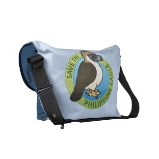 Save the Philippine Eagle Messenger Bag