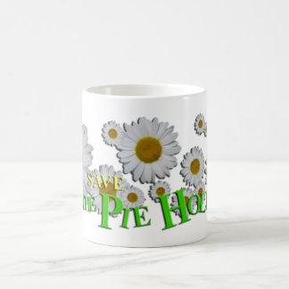 Save THE PIE HOLE Coffee Mug