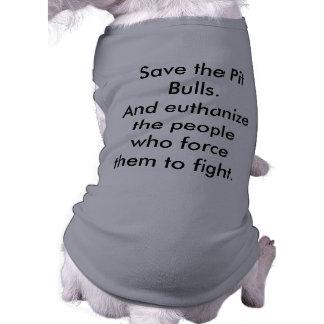 Save the Pit Bulls! Pet Clothes