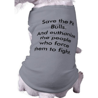 Save the Pit Bulls! Tee