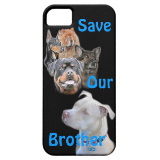 Save the Pitbull iPhone 5 Covers