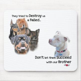 Save the Pitbull Mouse Pad