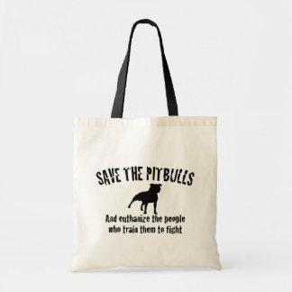 Save The Pitbulls Bag