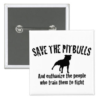 Save The Pitbulls Button