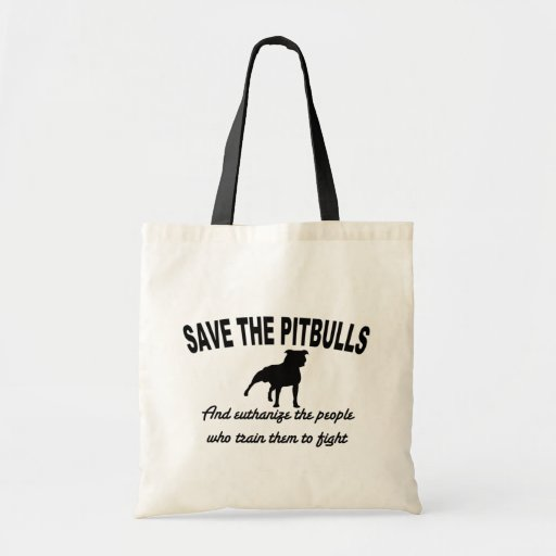Save The Pits Bags