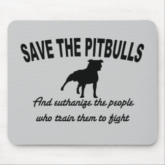 Save The Pits Mouse Pad