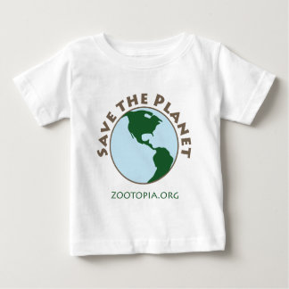 Save the Planet Apparel Baby T-Shirt