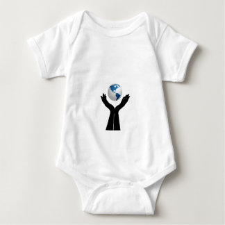 Save the planet baby bodysuit