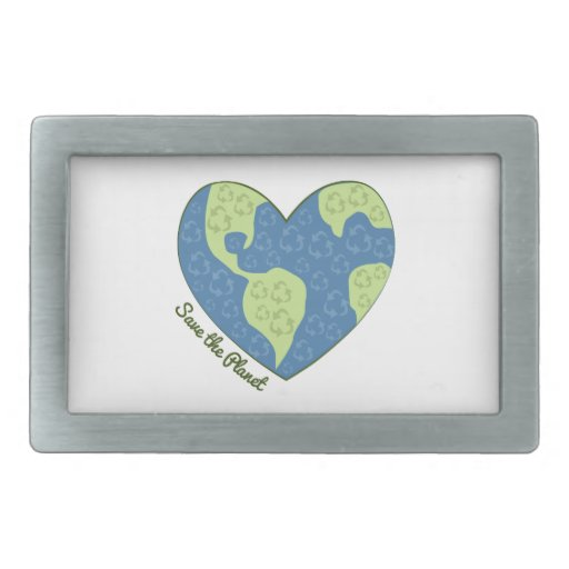 Save The Planet Belt Buckles