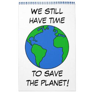 Save the planet calendar