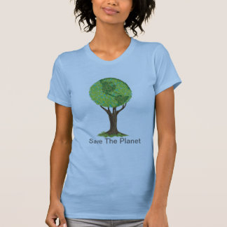Save The Planet Enviromental Concerns t-shirt