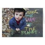 Save the Planet Greeting Card