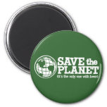 save the planet - it's the only one with beer magnets