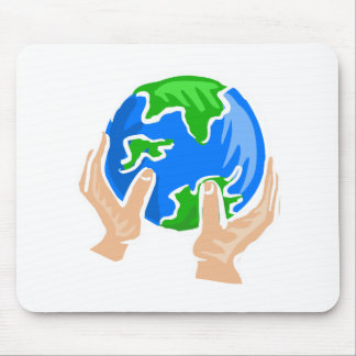 Save the Planet Mouse Pads