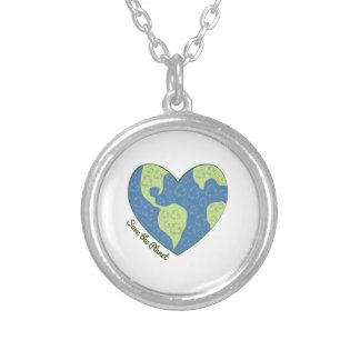 Save The Planet Pendant