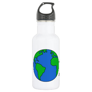Save the planet 18oz water bottle