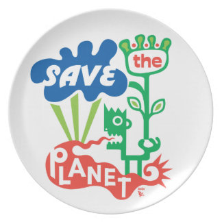 Save the Planet Plate
