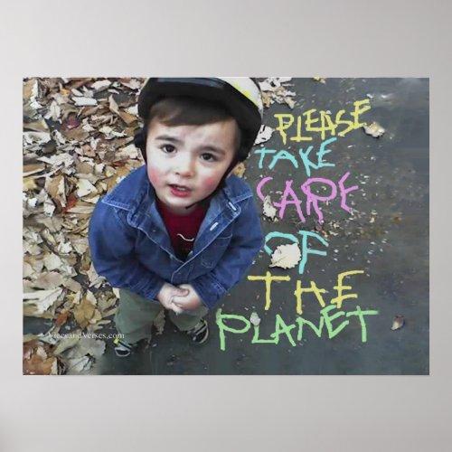 Save the Planet zazzle_print