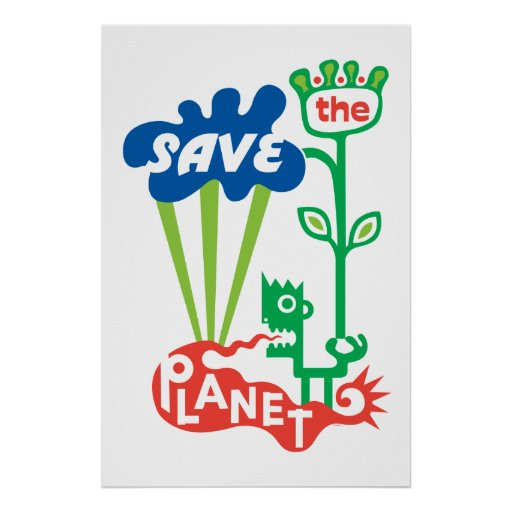 Save the Planet - poster