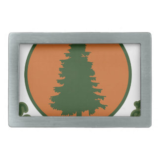 Save the Planet Rectangular Belt Buckle