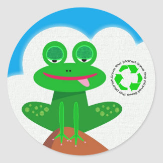 Save the Planet: Recycle Stickers