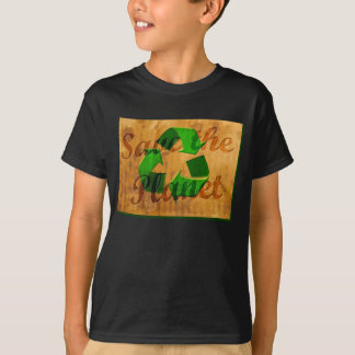 Save The Planet: Recycle T-Shirt