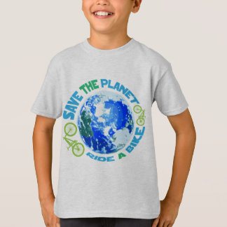 Save the Planet Ride a Bike T-Shirt