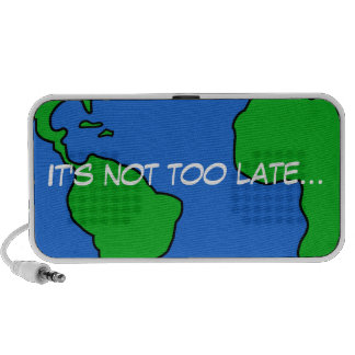Save the planet laptop speaker