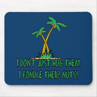 Save the planet treehugger mousepads