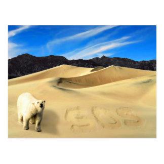 Save the Polar Bear Postcard