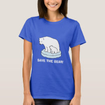 Save The Polar Bear T-shirt