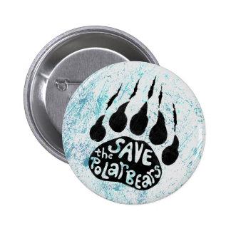 Save The Polar Bears 2 Inch Round Button