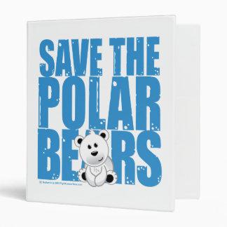 Save the Polar Bears Binder