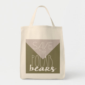 Save The Polar Bears | Climate Change | Tote Bag