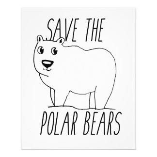 Save The Polar Bears Flyer